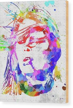 Brigitte Bardot Wood Print by Daniel Janda. All wood prints are professionally printed, packaged, and shipped within 3 - 4 business days and delivered ready-to-hang on your wall. Choose from multiple sizes and mounting options.