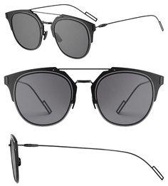 Dior Homme Dior Composit 1.0 Sunglasses Dark Grey Black/Grey.