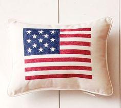 Simple Americana Pillow