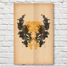 """Wolverine // Rorschach Print $9.99 Product Details — 11""""x17"""" Print  — Trimmed For No Bleed For Vintage Paper Feel  — High Quality Digital Print On 100# Stock Paper With Silk Finish  — Individually Printed; Colors May Slightly Vary From Digital Image Shown  ColorsMulti Colored Materials100lb Cardstock Paper + Silk Finish Measurements11""""W x 17""""H OriginUnited States"""