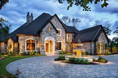 English Traditional - traditional - exterior - - by JAUREGUI Architecture Interiors Construction