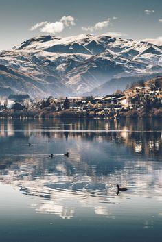 "lsleofskye: ""Lake hayes reflection """