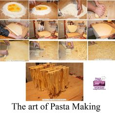 The art of Pasta Making in Italy at Mama Isa's Cooking Classes in Italy Venice