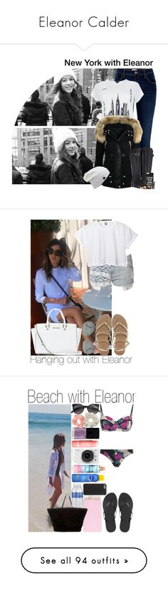 """Eleanor Calder"" by beautifullyme1 ❤ liked on Polyvore featuring Calder, River Island, New Look, Naturalizer, Jac Vanek, Jane Norman, CC, ASOS, Ray-Ban and MICHAEL Michael Kors"