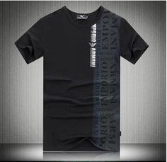 2014 Mens Fashion eagle label t-shirt with side print brand design