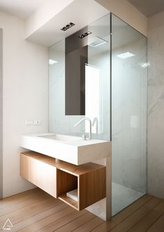 Luxury Bathroom Master Baths Marble Counters is unquestionably important for your home. Whether you pick the Luxury Bathroom Ideas or Luxury Bathroom Master Baths Walk In Shower, you will make the best Interior Design Ideas Bathroom for your own life. Bathroom Design Inspiration, Bad Inspiration, Modern Bathroom Design, Modern Design, Restroom Design, Modern Bathrooms, Bath Design, Bathroom Designs, Custom Design