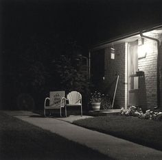 First Time User — Robert Adams. Summer Nights, Walking, 1976-82.