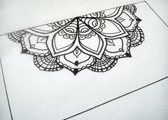 #zentangle #psycho #doodle #art #mandala #flower
