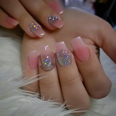 Custom nails design #allpowder ( NAKED #1 ) products @ missuamerica.com