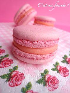C'est ma fournée !: Les macarons à la rose de Christophe Felder