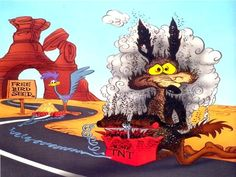 wile e coyote beep beep - Google Search