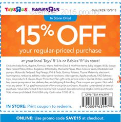 Babies R Us Coupons Promo Coupons will expired on MAY 2020 ! About Babies R Us From apparel to specialty furniture, toys, car seats . Free Printable Coupons, Free Printables, Dollar General Couponing, Coupons For Boyfriend, Love Coupons, Grocery Coupons, Extreme Couponing, Mamas And Papas, Babies R Us