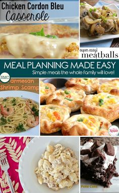 Meal Planning Made E