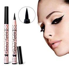 ROPALIA Stylo Eyeliner Pen Maquillage Cosmétique Noir Rose Liquid Eye Liner Crayon Composent Outil.