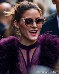 "198 Me gusta, 3 comentarios - London et Paris (@london_et_paris) en Instagram: ""#OliviaPalermo #StreetStyle at #ElieSaab #ParisFashionWeek #FashionShow #PFW #FashionWeek #Style…"""