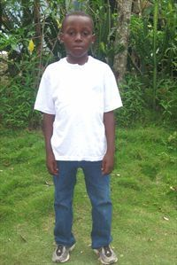 This is my precious little boy Donaldo. He lives in Haiti and he has my heart!