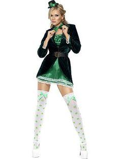 Womens Fever St. Patricks Day Costume
