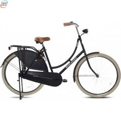Highlander Traditional 2014 Matt Sort - Klassisk Dutch Bike kr 3 840,00