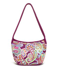 Another great find on #zulily! Posh Paisley Purple Shoulder Lunch Tote by BUILT #zulilyfinds
