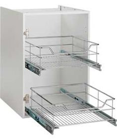 Spencers Valencia 500mm Pull-Out Basket Soft Close.