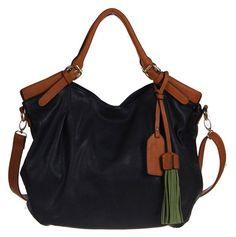 cute bag in black and brown