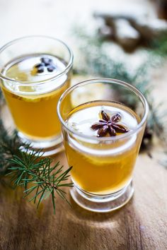 A Long Winter's Nap- A Bourbon cocktail with Maple syrup, ginger, star anise and lemon. A delicious cozy wintery drink!   www.feastingathome.com