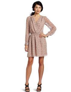 Reviews BCBGeneration Women's Blouse Sleeve Dress, Beige, X-Small