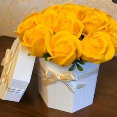 Roses, Pastel, Box, Flowers, Vintage, Wonderful Flowers, Nice Asses, Cake, Pink