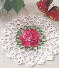 Home Decor Crochet Patterns Part 101 - Beautiful Crochet Patterns and Knitting Patterns Crochet Squares Afghan, Crochet Flower Patterns, Crochet Designs, Crochet Flowers, Knitting Patterns, Granny Squares, Knitting Ideas, Beau Crochet, Crochet Home