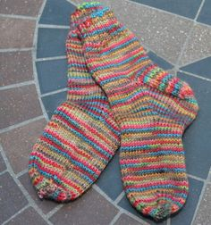 Try Your Hand at Knitting These Adorable Toddler Socks