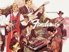 1962 Fender Guitar Catalog