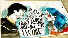 Joel and Clementine by Paula Bonet