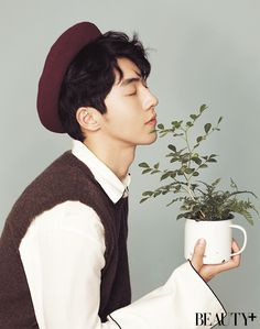 StyleKorea — Nam Joo Hyuk for Beauty+ April Asian Actors, Korean Actors, Nam Joo Hyuk Wallpaper, Jong Hyuk, Joon Hyung, Park Bogum, Kim Book, Bride Of The Water God, Ahn Hyo Seop