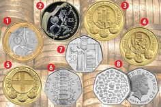 The eight rarest coins in circulation