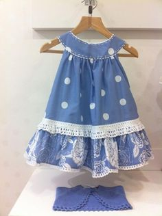 For a little girl. Little Dresses, Little Girl Dresses, Cute Dresses, Little Girls, Girls Dresses, Toddler Dress, Toddler Outfits, Baby Dress, Kids Outfits