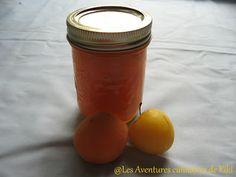 Confiture d'abricots et de prunes jaunes Saveur, Jelly, Honey, Liqueurs, Food, Yellow Plum Jam, Small Plates, Drinks, Jelly Cream