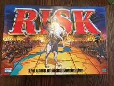 RISK Board Game of Global Domination Parker Brothers 1999 Hasbro Complete  | eBay