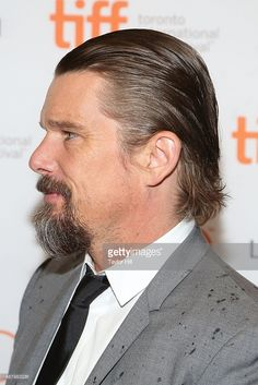 Ethan Hawke attends the premiere of 'Maggie's Plan' at Princess of Wales Theatre during the 2015 Toronto International Film Festival on September 12, 2015 in Toronto, Canada.