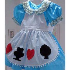 Fantasia Infantil - Alice No País Das Maravilhas - Mod. 2016 - R$ 198,00