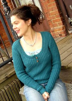 Knitty: Thermal Sweater