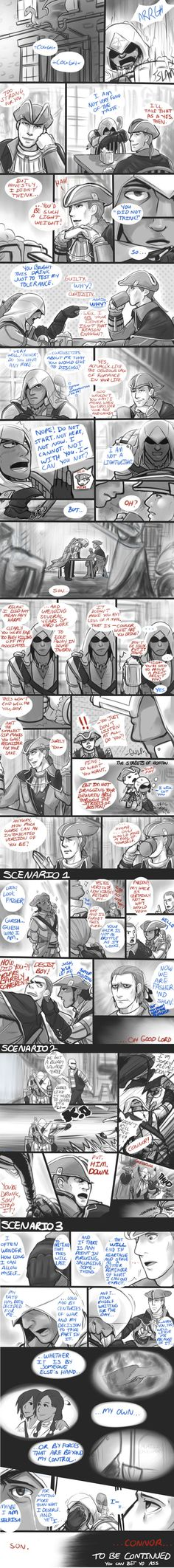 (AC3) Too Much, Too Little by blacktenshi22 on DeviantArt
