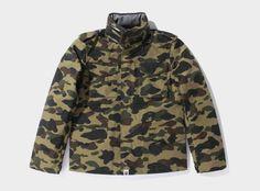 Bape Camouflage Gore-Tex M65 Jackets