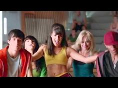glee cast   hit me baby one more time glee season 2 britney brittany episode