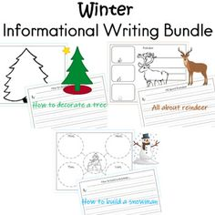 Informational Writing / Explanatory Writing Winter and Christmas How to Build a Snowman All About Reindeer Informational Writing How to Decorate a Tree: Writing Resources, Writing Activities, Classroom Activities, Teacher Resources, How To Build A Snowman Writing, Writing Graphic Organizers, First Grade Lessons, Informational Writing, Elementary Teacher