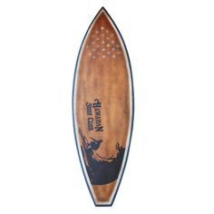 Decorative Brown Vintage Wooden Surfboard - Overstock Shopping - Great Deals on Jeffan Accent Pieces