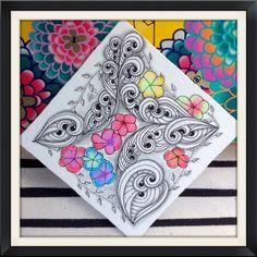 The Zentangle pattern Trio