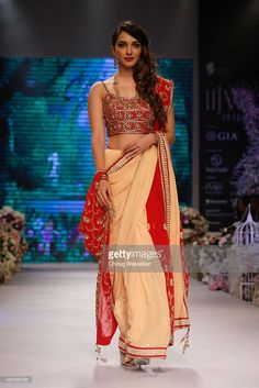 Kiara Advani walks the runway at the Beti show during Day 1 of the India International Jewellery Week at the Grand Hyatt on August 3, 2015 in Mumbai, India.