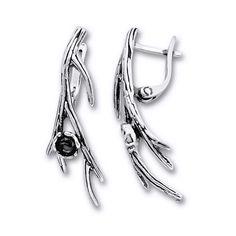 Cercei din argint cu pietre semipretioase. Bijuterii din argint lucrate manual in Israel. Nail Clippers, Israel