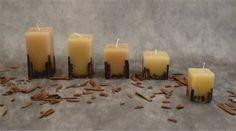 velas decorativas com canela - Pesquisa Google