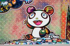 Murakami Artist, Takashi Murakami Art, Superflat, Griffonnages Kawaii, Kawaii Doodles, Art Japonais, Hand Painted Canvas, Japan Art, Cartoon Art